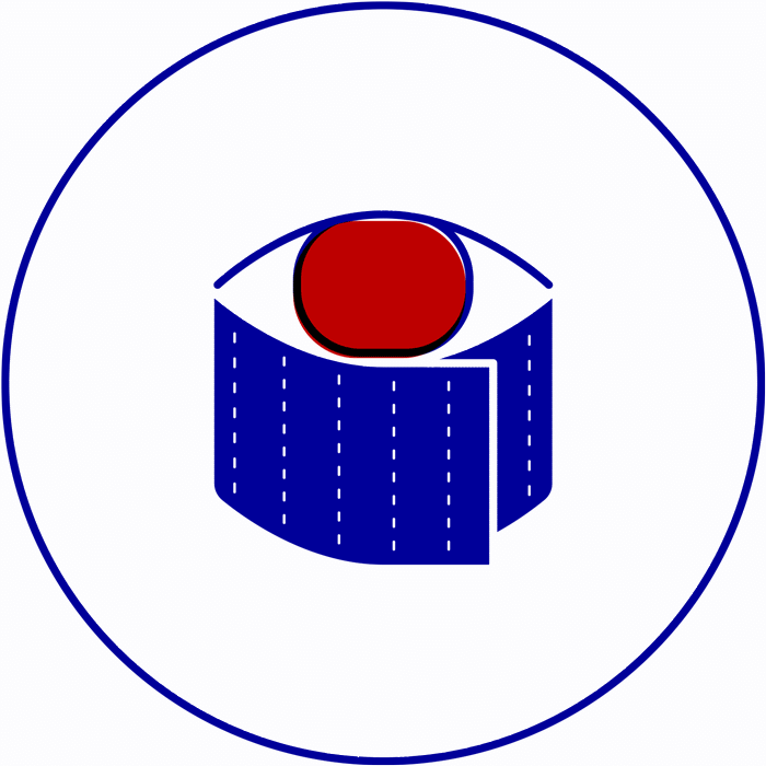 dezakaya identity icon sushi eye roll