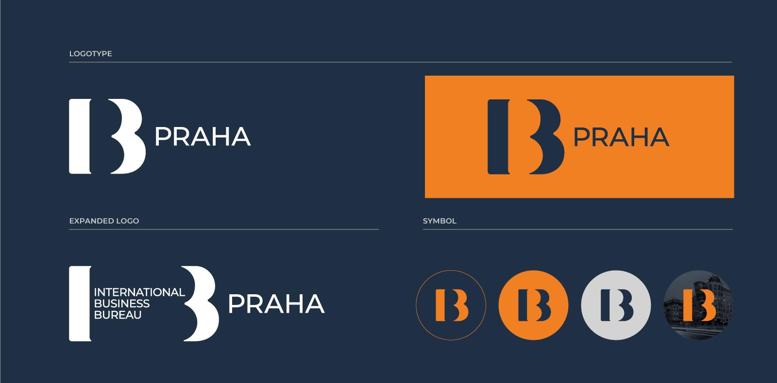 IBB Praha corporate identity