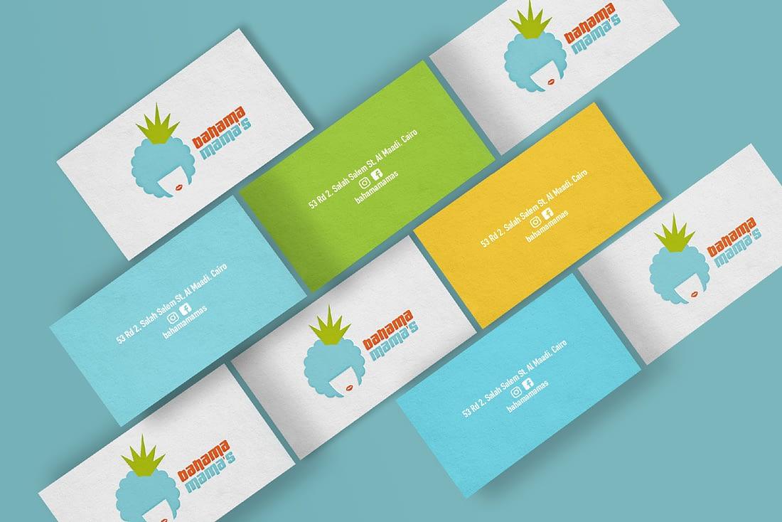 bahama-mama-cairo-juice-bar-logo-bottle-design