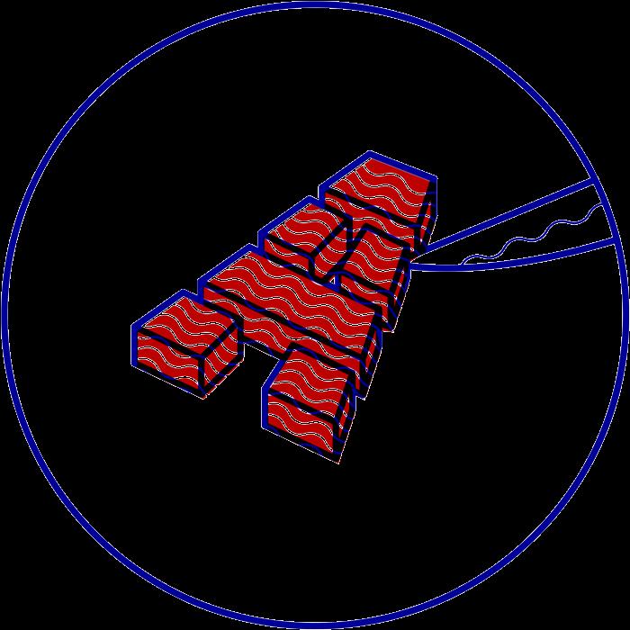 dezakaya design icon typography letter sashimi